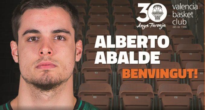 Alberto Abalde, jugador taronja per a les 4 pròximes temporades