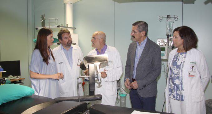 Carmen Montón: 'La Fe és un hospital de referència per a l'atenció per accident nuclear'