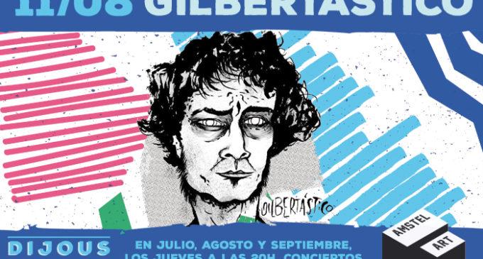 """Amstel Art presenta la premier de l'últim disc de Gilbertástico en una nova sessió de """"Dijous al Veles"""""""