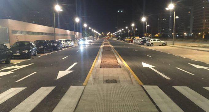Els carrers del sector de Quatre Carreres s'obrin per a l'us públic