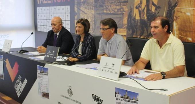 El XXV Dia de la Pilota Valenciana honra a l'esport autòcton amb un carrusel de partides