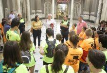 150 escolars de Patraix fan un passeig en bicicleta amb motiu de la Setmana de la Mobilitat