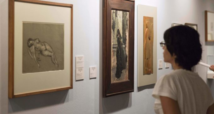 """L'Almodí acoge la exposición """"El desnudo en la obra de Ignacio Pinazo"""" hasta el próximo 8 de enero"""
