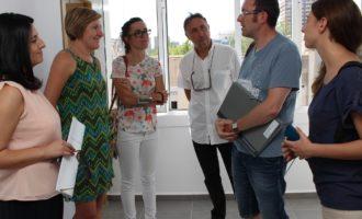 La consellera d'Habitatge visita el primer habitatge tutelat d'Espanya que es destinarà a dones exrecluses amb diversitat funcional