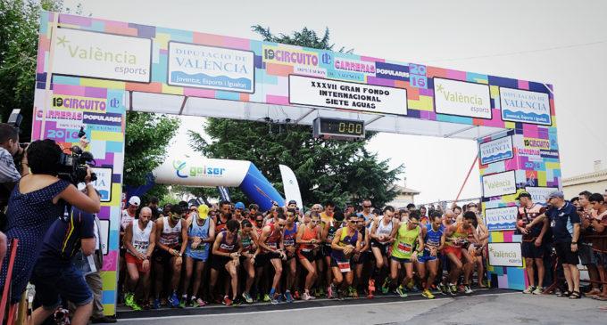 Més de 2.000 atletes participen demà a Paterna en la novena prova del Circuit de Carreres Populars de la Diputació