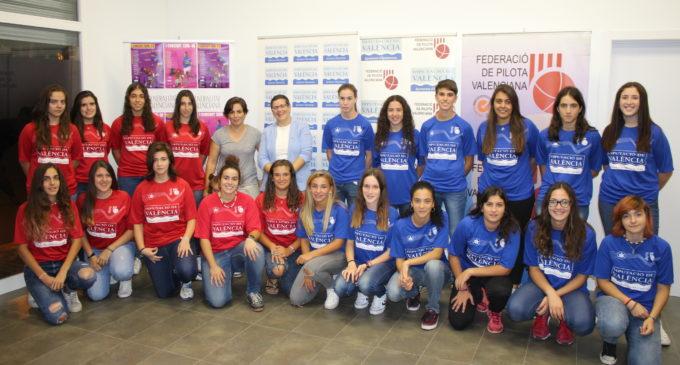 La Federació de Pilota Valenciana presenta els Circuits femenins de Raspall