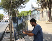 Salvador Ribes aconseguix el primer premi en el XIIIé Concurs de pintura ràpida «Godella i el seu entorn»
