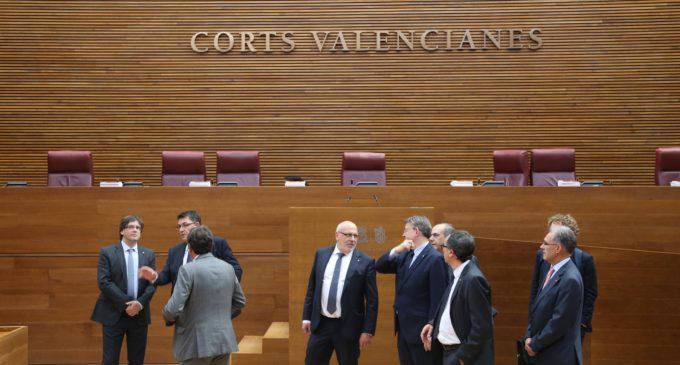 Visita informal del President de Catalunya al Palau dels Borja