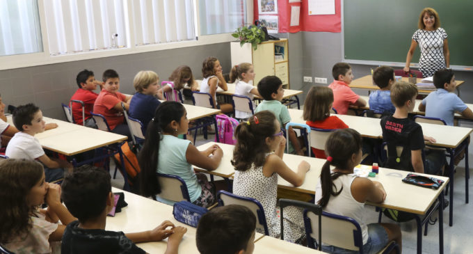 Educació proposa que l'inici del curs escolar 2018-2019 siga el dia 10 de setembre