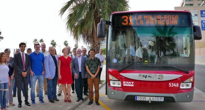 L'Ajuntament d'Alboraia inaugura l'ampliació de la Línia 31