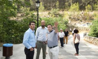 La Diputació dobla la inversió del Pla de Camins i Vies en els municipis de la Vall d'Aiora