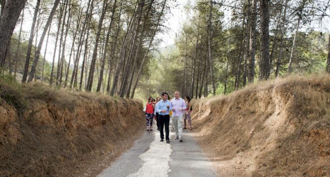 La Diputació injecta 265.000 euros en el Racó d'Ademús amb el Pla de Camins i Vies
