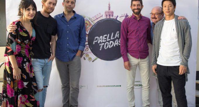 Comença el rodatge de la pel·lícula 'Paella Today!' a València