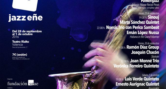 El Teatre Rialto acull la III edició de JazzEñe