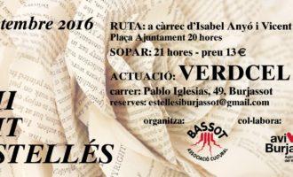 Verdcel actuarà en la VII NIt Estellés de Burjassot