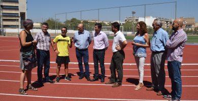 La nova pista d'atletisme municipal, llista per als atletes de Burjassot