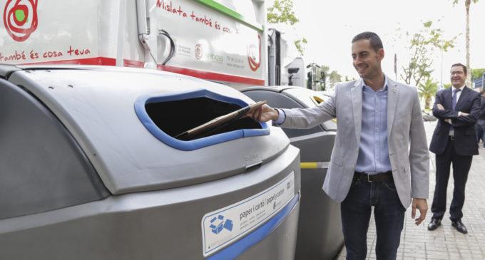 Mislata renova tots els contenidors i inicia la recollida de residus en horari nocturn