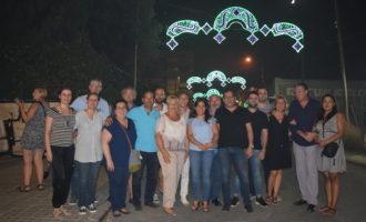 L'encesa de les llums del recinte festiu va iniciar les festes de Sedaví