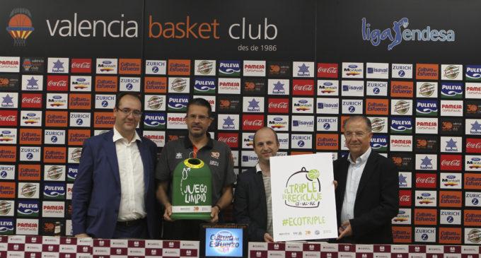 La Generalitat i els equips de bàsquet valencians impulsen el reciclatge