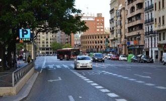 Es licita l'intercanviador del carrer Xàtiva de cara a la peatonalització de la plaça de l'Ajuntament