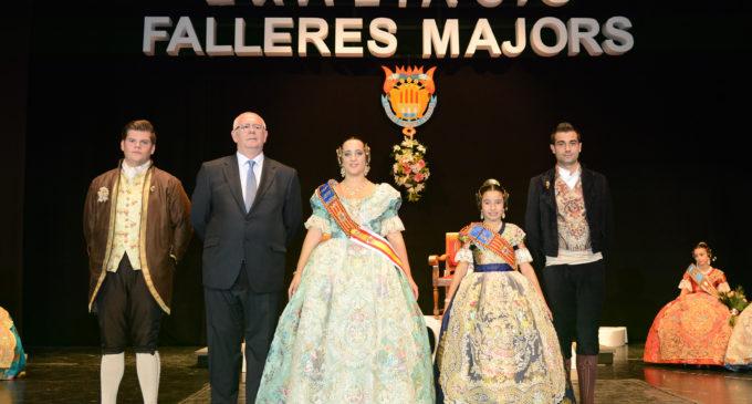 Alba Escoruela i Paula Marí, exaltades com a Falleres Majors de Paiporta 2017