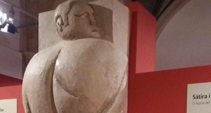 La Biblioteca Valenciana exhibeix una reproducció de grandària natural del 'Nano d'En Llop' en l'exposició de la premsa satírica