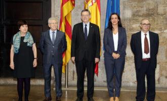 Prenen possessió els tres nous consellers del Consell Jurídic Consultiu designats pel Govern valencià