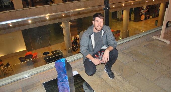 Guillermo Ros, guanyador del premi Escultura Solidària de la Fundació Cursol