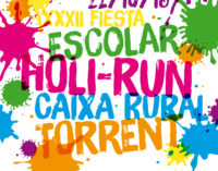 Una Holi-Run escolar omplirà de color Torrent
