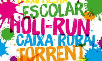 Una Holi-Run escolar llenará de color Torrent
