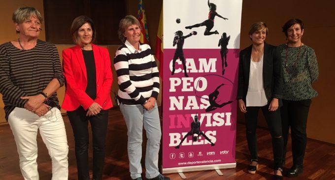 'Campiones invisibles' pretén donar a l'esport femení el protagonisme que mereix
