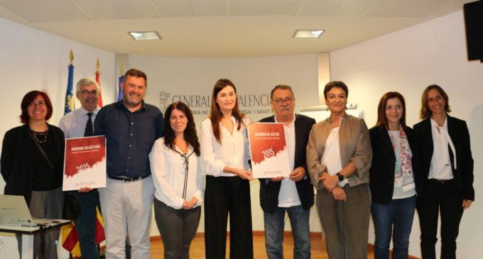 Carmen Montón: 'La Memòria de Gestió 2015 és una aposta per la transparència i per rendir comptes a la ciutadania'