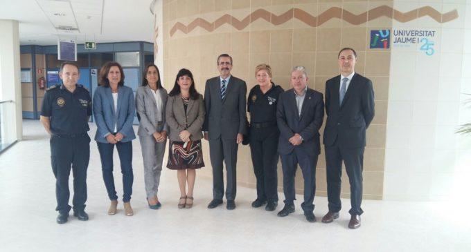 El IVASPE impulsa un protocol de col·laboració en formació de mediació policial amb la Universitat Jaume I i la Policia Local de Vila-real