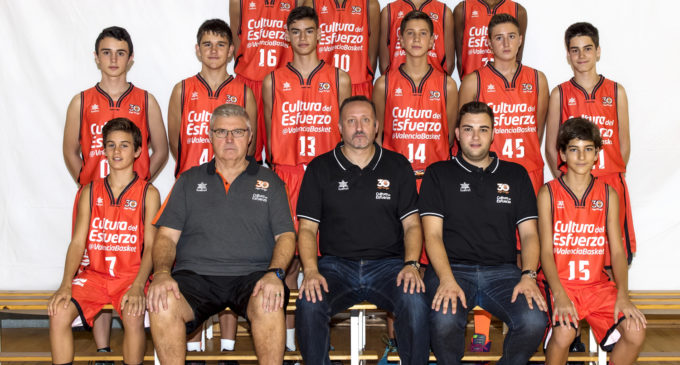 El Valencia Basket Infantil A Masculí, a per una plaça per a la Minicopa Endesa