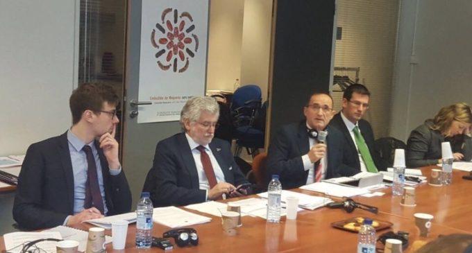 El diputat provincial Bartolomé Nofuentes presenta davant la Comissió Europea el projecte Interreg Eclectic