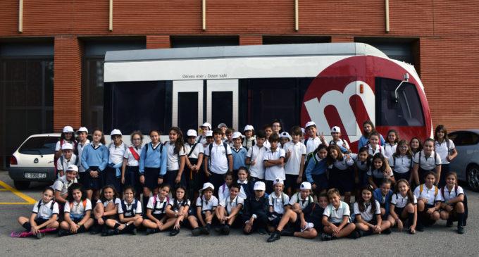 Metroescola reprén per vuité any consecutiu les visites educatives amb les Escoles San José de València