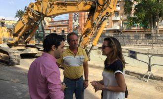 Paterna comença les obres contra inundacions en Campament a les quals destina 2 milions €