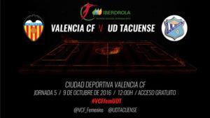 Valencia CF Femení vs UD Tacuense
