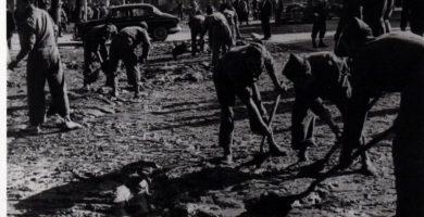 '1957. La Batalla contra el Barro', l'exposició que rememora la riuà de València