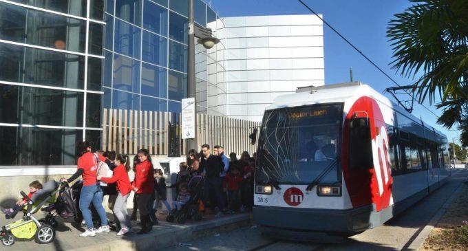 Metrovalencia ofereix serveis especials de tramvia a Fira València per a acudir al Saló de la Franquícia