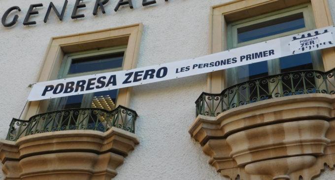 La Generalitat se suma a la Setmana Pobresa Zero