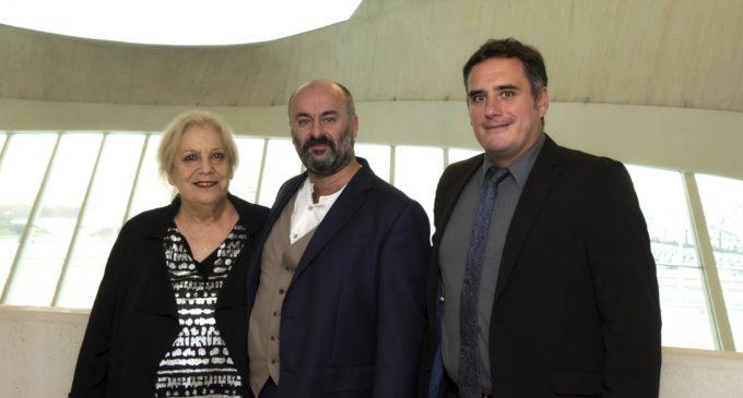 L'actriu Terele Pávez va assistir a l'estrena de 'El Gato Montés', de Manuel Penella, en les Arts