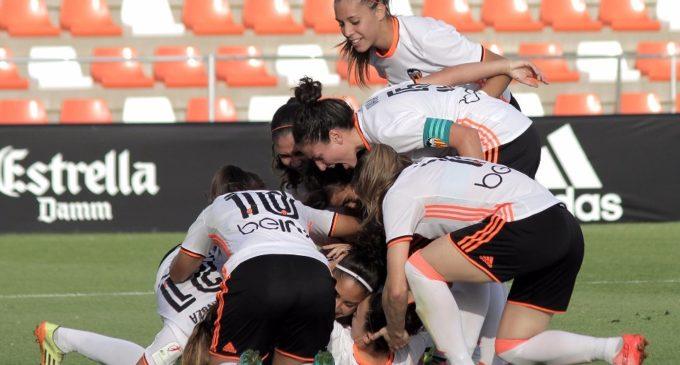 El Valencia Femení guanya i puja en la classificació