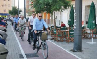 La bici arriba a tots els racons de València amb el Bicifest