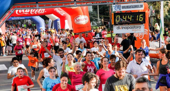 VII Volta a Peu de les Falles, ofrena a l'atletisme popular