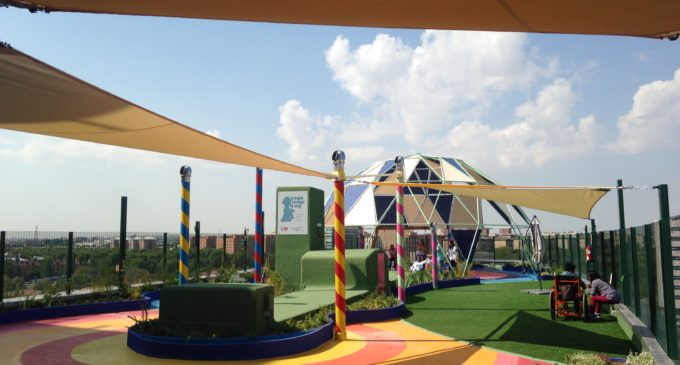 El jardí infantil en el terrat de l'Hospital La Fe de València prompte serà una realitat