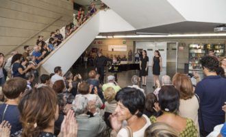 Els artistes del Centre Plácido Domingo acosten la lírica als visitants de l'IVAM per segon any