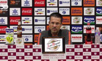 """Pedro Martínez: """"Crec que estem on volem estar en les dues competicions"""""""