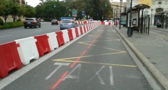 Mobilitat Sostenible comença hui les obres de l'anell ciclista a la Plaça Tetuan