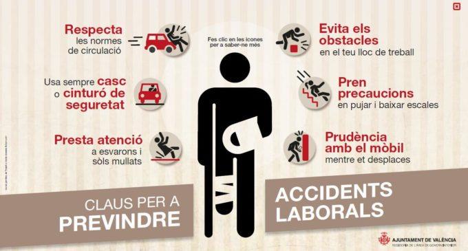 Les claus de l'Ajuntament per a previndre els accidents laborals
